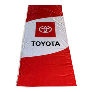 TOYOTA Automobile Flags