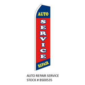 Swooper Flags AUTO REPAIR SERVICE